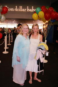 Samantha Mathis and Shelli-Anne Couch at the Billion Dollar Babes VIP Party.