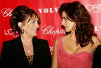 Carmen Maura and Penelope Cruz at the Sony Pictures Classics screening after party for