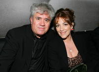 Carmen Maura and Pedro Almodovar at the Sony Pictures Classics screening after party for