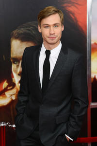 David Kross at the world premiere of