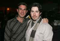 Jeff Witzke and Director Jason Reitman at the premiere of