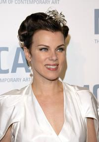 Debi Mazar at the Skin and Bones Opening Night Fete.