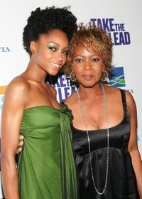 Yaya DaCosta and Alfre Woodard at the world premiere of
