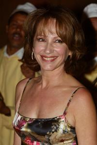 Nathalie Baye at the opening ceremony of the Marrakech Film Festival .