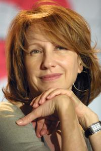 Nathalie Baye at the news conference at the Berlinale Film Festival.