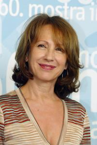 Nathalie Baye at the 60th photocall of Noemie Lvovsky's film