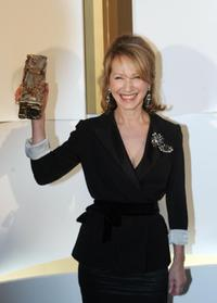 Nathalie Baye at the the 31th Nuit des Cesar France's top movie awards.