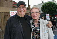 Chuck McCann and Jack Riley at the Los Angeles premiere of the