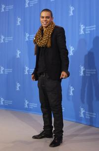 Evan Ross at the photocall and press conference of