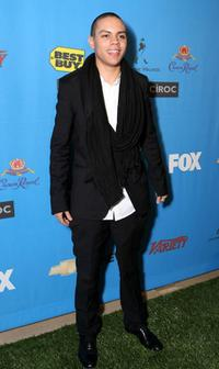 Evan Ross at the 39th NAACP Image Awards after party.