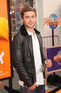Zac Efron at California premiere of