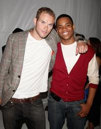 Kellan Lutz and Tristan Wilds at the premiere party for CW Network's