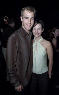James Van Der Beek and Heather McComb at the after-party of the premiere of