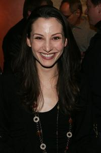 Heather McComb at the premiere party of