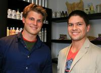 Travis Van Winkle and Guest at the REEL Lounge Retreat.
