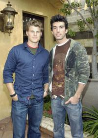 Travis Van Winkle and Justin Baldoni at the luncheon for a special tribute to David LaChapelle's documentary
