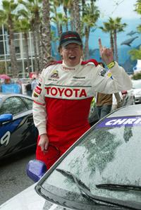 Christopher McDonald at the Pro/Celebrity race of the 30th Annual Toyota Grand Prix.
