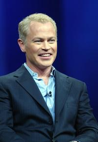 Neal McDonough at the press at the 2004 TCA Summer Press Tour.