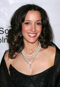 Jennifer Beals at the 34th annual film society of Lincoln Center spring tribute to Dustin Hoffman.