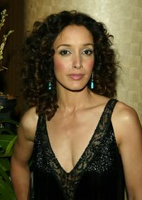 Jennifer Beals at the honoring of Showtime's Matt Blank by Cable Positive.