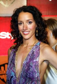 Jennifer Beals at the InStyle Magazine and Warner Bros. Studios post Golden Globe party.