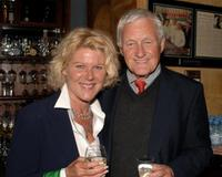 Alley Mills and Orson Bean at the after party of