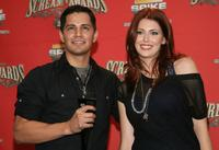 Jay Hernandez and Diora Baird at the Spike TV's