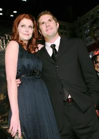 Diora Baird and Jonathan Liebesman at the premiere of the