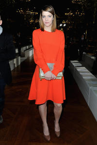 Celine Sallette at the Stella McCartney Fall/Winter 2013 Ready-to-Wear show in France.