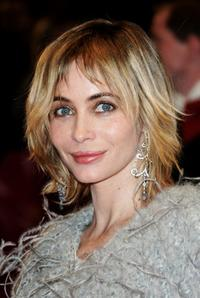 Emmanuelle Beart at the premiere of the movie