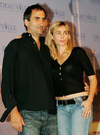Emmanuelle Beart and Manuel Pradal at the photocall of