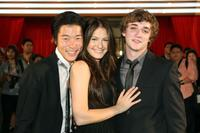 Aaron Yoo, Scout Taylor Compton and Kyle Gallner at the 2009 Bangkok International Film Festival Opening Ceremony and Gala Screening.