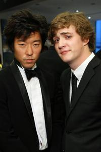 Aaron Yoo and Kyle Gallner at the Golden Kinnaree Awards during the Bangkok International Film Festival 2009.