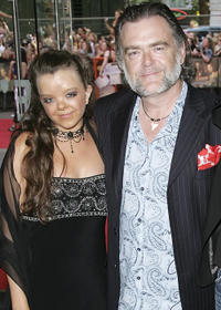 Kevin McNally and Guest at the UK premiere of