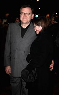 Kevin McNally and Guest at the Theatergoers'' Choice Awards.