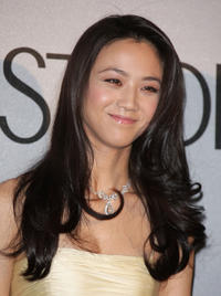 Tang Wei at the Chopard Trophy Award in France.
