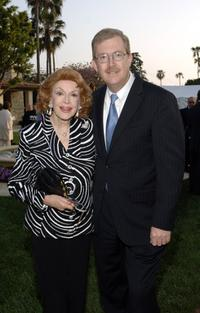 Jane Meadows and Bill Allen at the House Ear Institute Benefit.