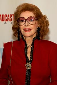 Jayne Meadows at the 13th Annual Broadcasting and Cable Magazine Hall of Fame.