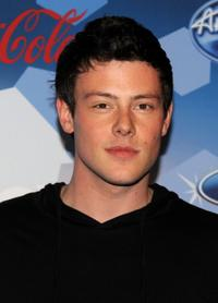 Cory Monteith at the Fox's Meet The Top 12