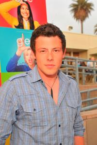 Cory Monteith at the premiere of