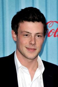 Cory Monteith at the American Idol Top 12 party.