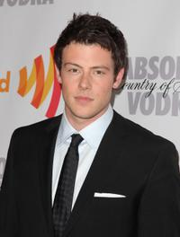 Cory Monteith at the 21st Annual GLAAD Media Awards.