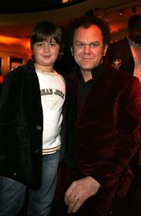 Conner Rayburn and John C. Reilly at the after party of the premiere of