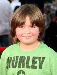 Conner Rayburn at the world premiere of
