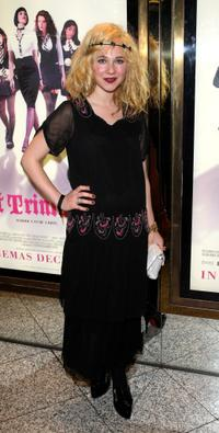 Juno Temple at the world premiere of