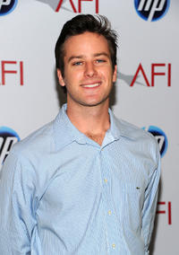 Armie Hammer Jr. at the Eleventh Annual AFI Awards.