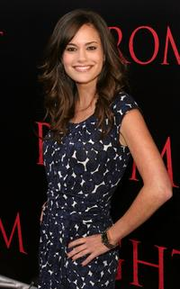 Rachel Specter at the world premiere of