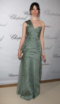 Rebecca Hall at the Chopard Party during the 61st International Cannes Film Festival.