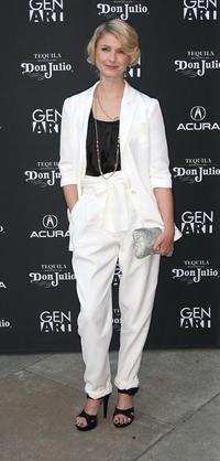Whitney Able at the premiere of