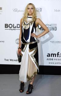 Gemma Ward at the amfAR's (American Foundation for AIDS Research)
